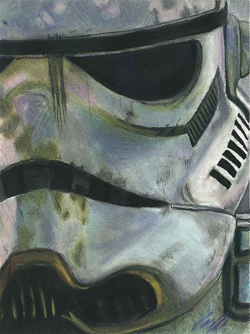 """""""Storm Trooper"""" art print"""