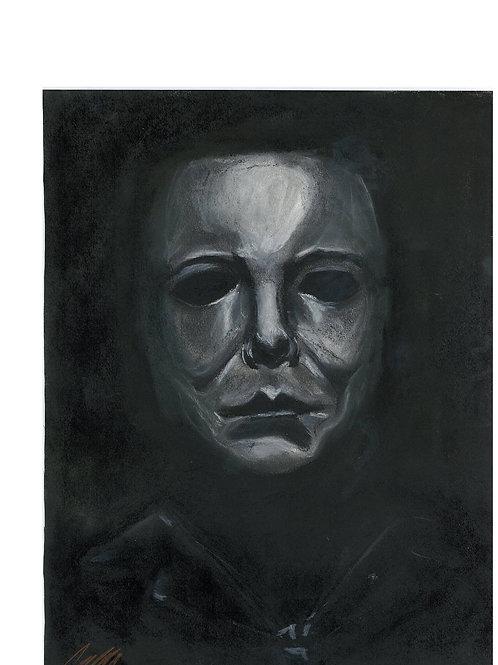 """The Shape"" art print"