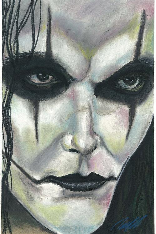 """Eric Draven"" Art print"