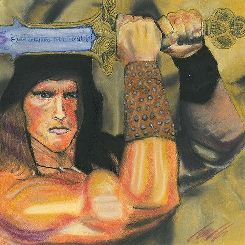 """Conan"" art print"