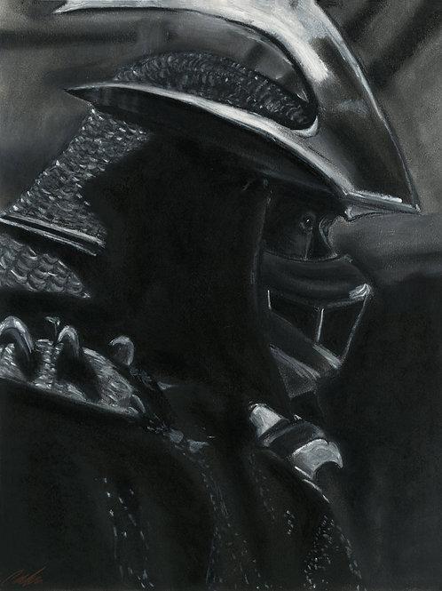 """""""Shredder"""" art print"""