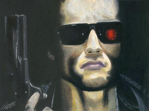 """Terminator"" art print"