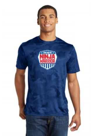 American Ninja Warrior Men's Camo Performance T-Shirt
