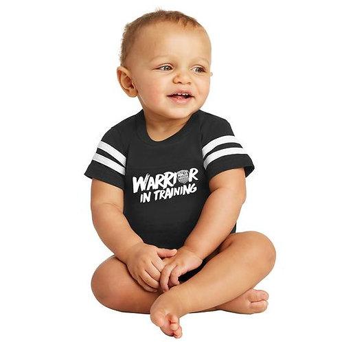 American Ninja Warrior Baby Onesie - Black