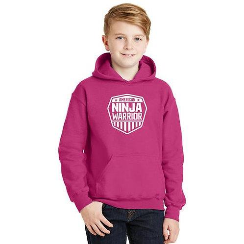 American Ninja Warrior Kids Hoodie - Pink