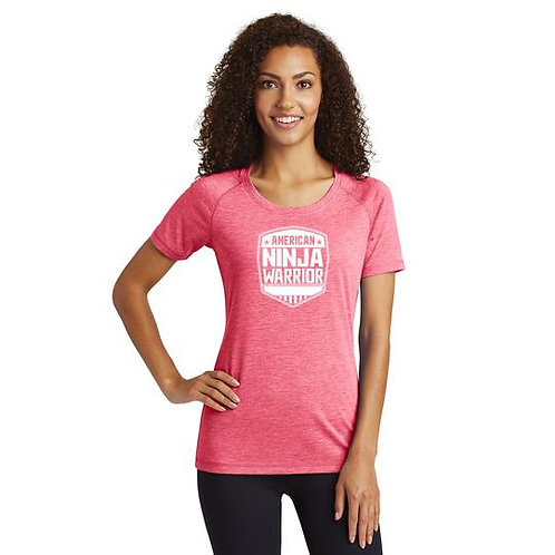American Ninja Warrior Women's Pink Performance T
