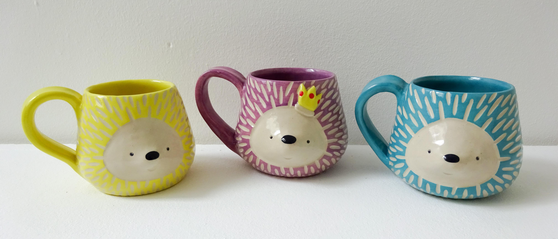 Hedgehog Mugs