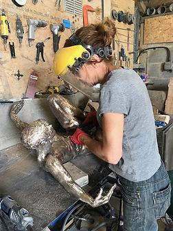 Bronze sculptor teresa wells