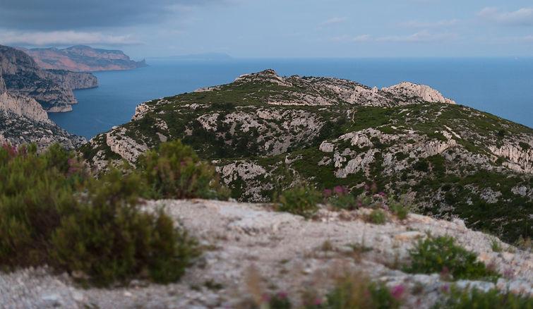 Inanna dans les calanques de Marseille