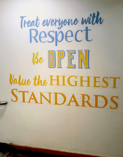 Core Values comission  Royal Opera House  Staff Cafe area