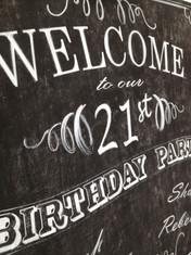 Birthday Event Comission