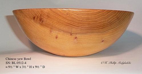 Chinese Yew Bowl