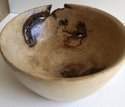 Live oak burl bowl