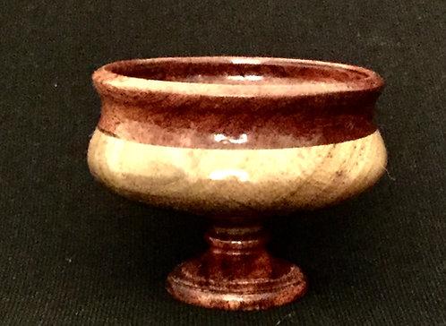 48- Segmented Mesquite/ Pecan bowl