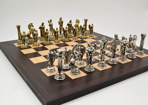 Icarus Chess Set - Wooden Board
