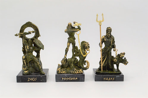Zeus Poseidon Hades green oxidation