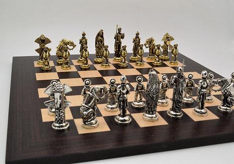 Don Quixote Chess Set - Wooden Board