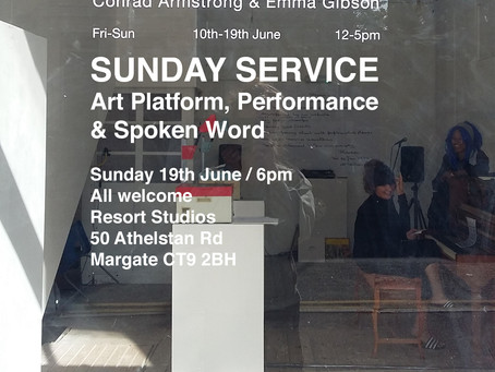 SUNDAY SERVICE IN MARGATE