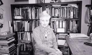 Vivienne in her office, 2014 © www.blackarrowphoto.com