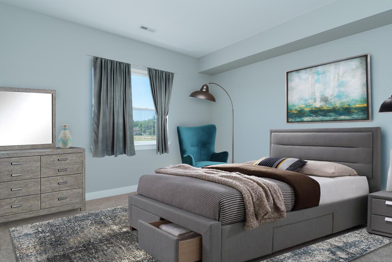 Basement Bedroom - Furnished