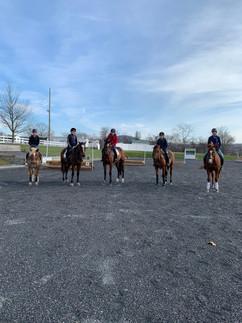 Windsor Manor Jumping Field Trip!