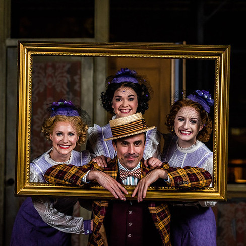Backstage @ The Muny's Annie