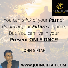 You can think about your past or dream a