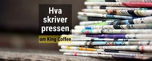 Hva skriver pressen om King Coffee AS? Arkiv