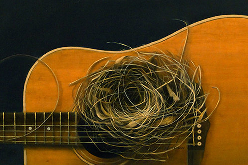 Play Free Bird - Giclée on stretched canvas