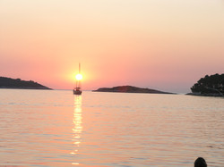 Pomena sunset