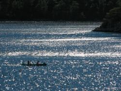 Kayaking on lakes