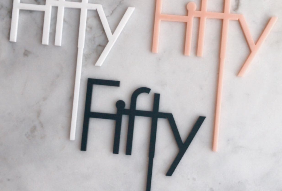 FIFTY