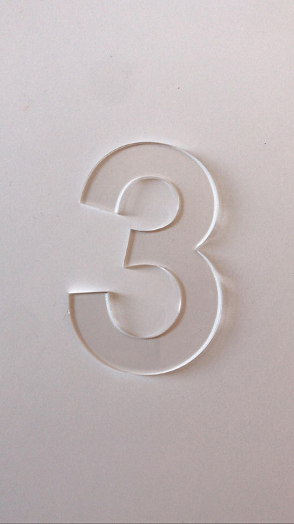 CAKE STENCIL NUMBERS