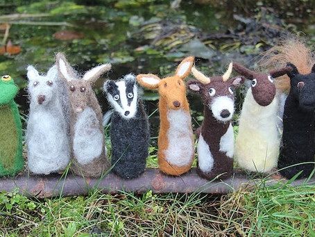New for 2018 - Needle felt workshops/parties
