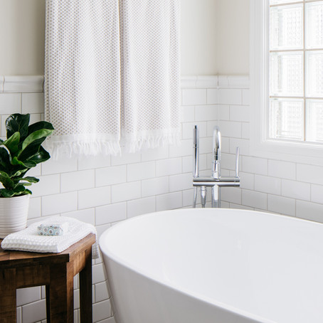 A Serene Bathroom Renovation