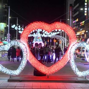 [Korea] ใช้เวลายามเย็นที่น่ารักที่เทศกาลแสงไฟฮุนแด
