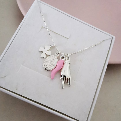 Collana Fortune Pink