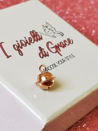 Ciondolo Campanella rosè