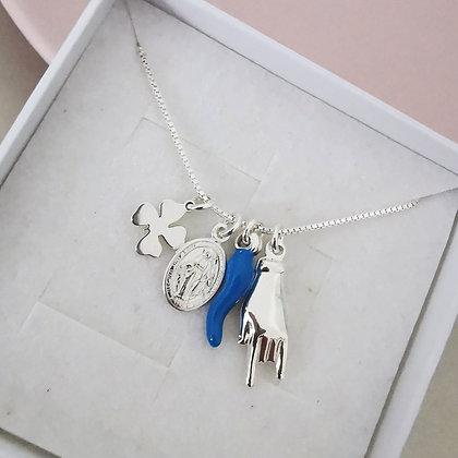 Collana Fortune Blue