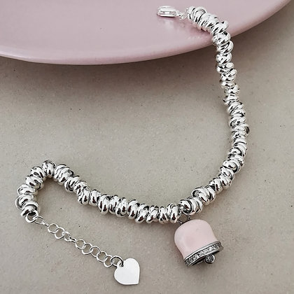 Bracciale Meredith Pink Bell