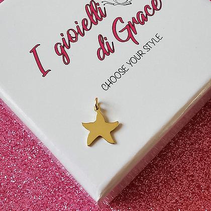 Ciondolo Stella  gold