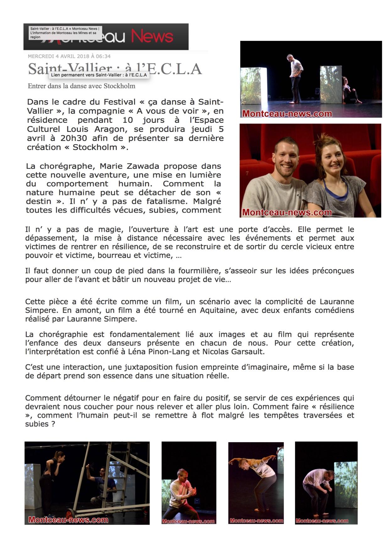 Stockholm - Montceau News 4_04_18