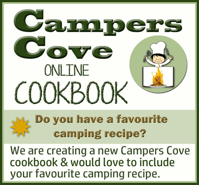 Campers Cove Online Cookbook!