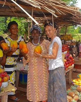 ギニア現地法人イヌワリアフリカ