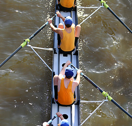 Photo of rowers