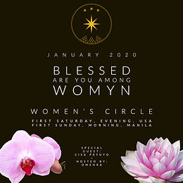 Blessed Are You Among Womyn, Women's circle