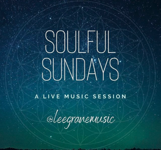 Soulful Sundays @leegranemusic