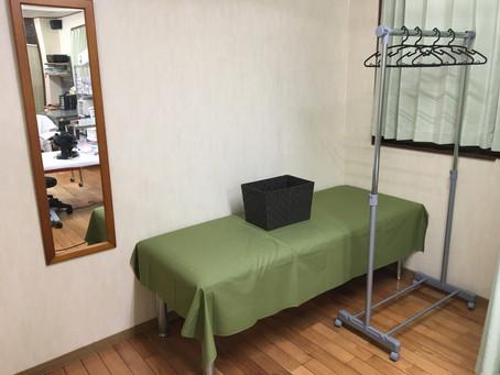 専用更衣室作りました