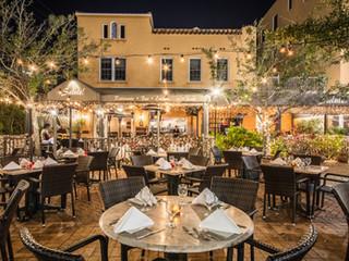 Outdoor Garden Terrace at Bevardi's Salute Restaurant