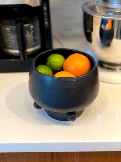 Black Matte Bowl/Fruit Bowl